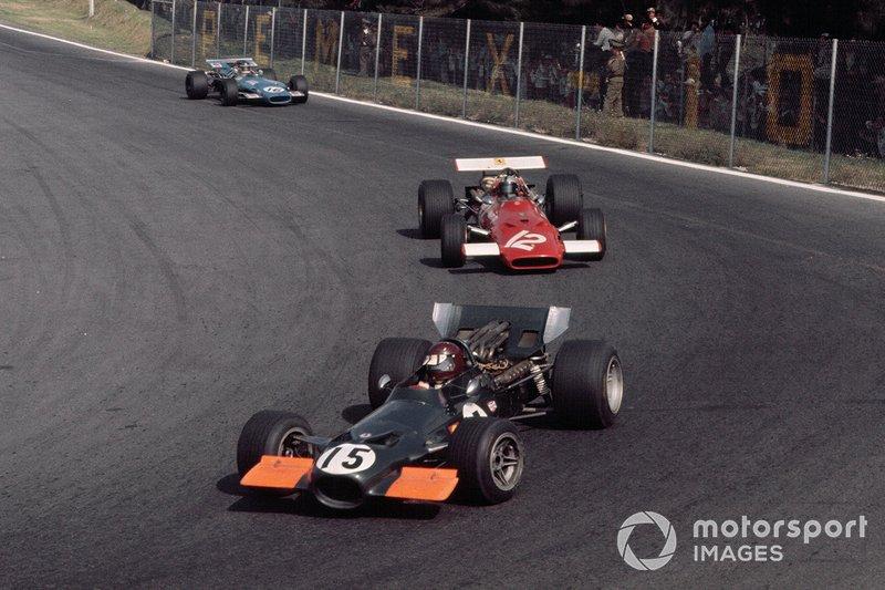 Jackie Oliver, Owen Racing Organisation, BRM P139, Pedro Rodriguez, Ferrari 312/68/69, Johnny Servoz-Gavin, Matra MS84