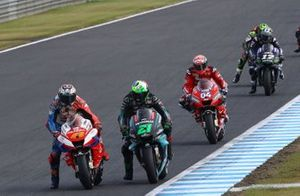 Jack Miller, Pramac Racing, Franco Morbidelli, Petronas Yamaha SRT, Andrea Dovizioso, Ducati Team, Maverick Vinales, Yamaha Factory Racing