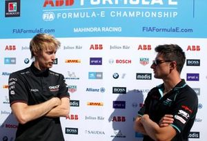 Brendon Hartley, Dragon Racing, Penske EV-4, Mitch Evans, Jaguar Racing