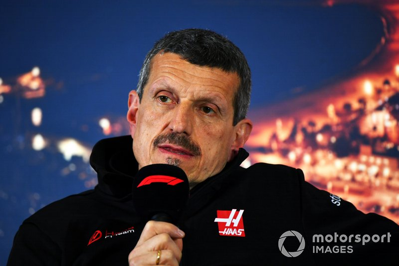 Guenther Steiner, Team Principal, Haas F1 Team in conferenza stampa