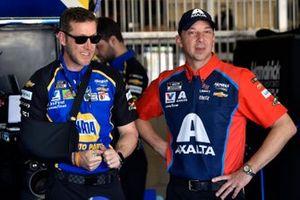 Alan Gustafson and Chad Knaus