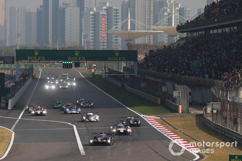 Partenza della gara di Shangai