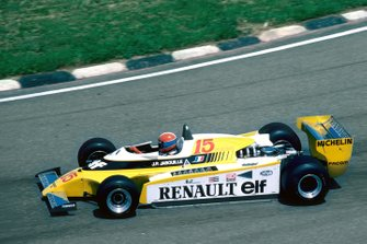 Jean-Pierre Jabouille, Renault, al GP del Brasile del 1980