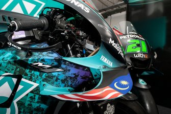 Petronas Yamaha SRT, home race designed fairing