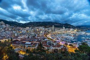 Монако, вид сверху