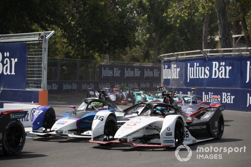 Alexander Sims, BMW I Andretti Motorsports, BMW iFE.20 lotta con Andre Lotterer, Porsche, Porsche 99x Electric