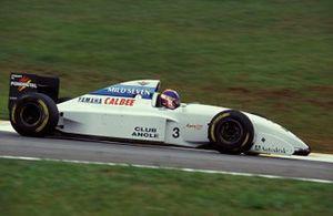 Ukyo Katayama, Tyrrell 022 Yamaha, al GP del Brasile del 1994