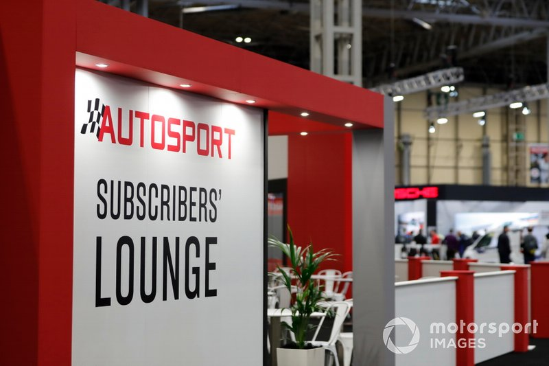 Autosport Subscribers Lounge
