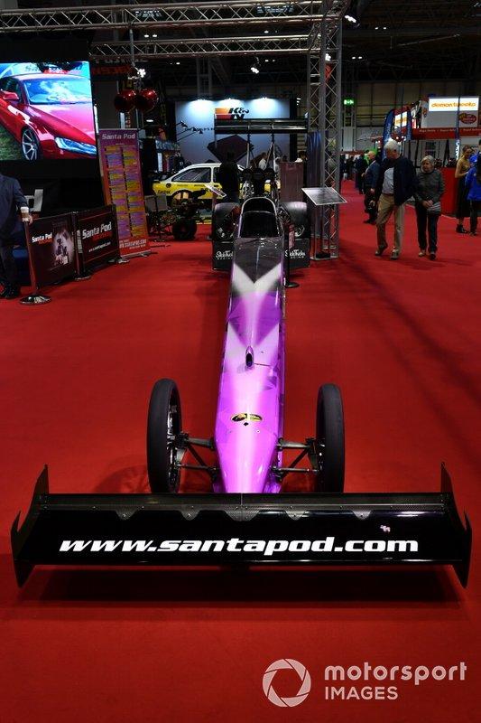 Santa Pod Raceway stand