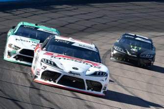 Harrison Burton, Joe Gibbs Racing, Toyota Supra Dex Imaging, Austin Cindric, Team Penske, Ford Mustang MoneyLion, Riley Herbst, Joe Gibbs Racing, Toyota Supra Monster
