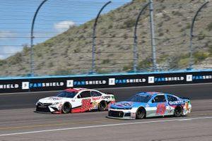 Kyle Busch, Joe Gibbs Racing, Toyota Camry Sport Clips, Brennan Poole, Premium Motorsports, Chevrolet Camaro Goettl