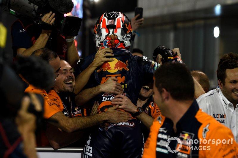 Ganador Tetsuta Nagashima, Red Bull KTM Ajo