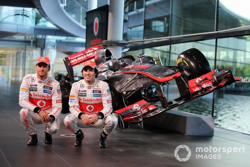 Jenson Button et Sergio Pérez chez McLaren