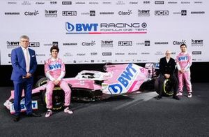 Otmar Szafnauer, Lance Stroll, Racing Point, Andreas Weissenbacher, Sergio Perez, Racing Point, Racing Point RP20