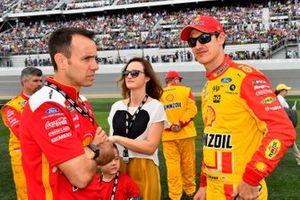 Joey Logano, Team Penske, Ford Mustang Shell Pennzoil Paul Wolfe