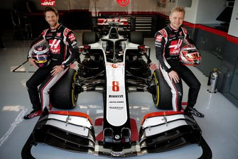 Romain Grosjean, and Kevin Magnussen, Haas F1 Team VF-20
