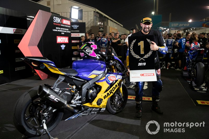 Randy Krummenacher, BARDAHL Evan Bros. WorldSSP Team, WorldSSP World Champion