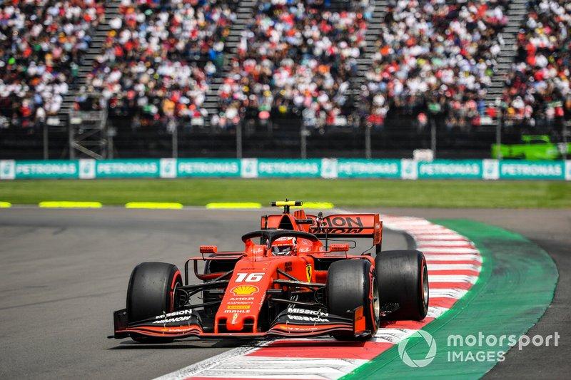 Mexican GP: Charles Leclerc, Ferrari*