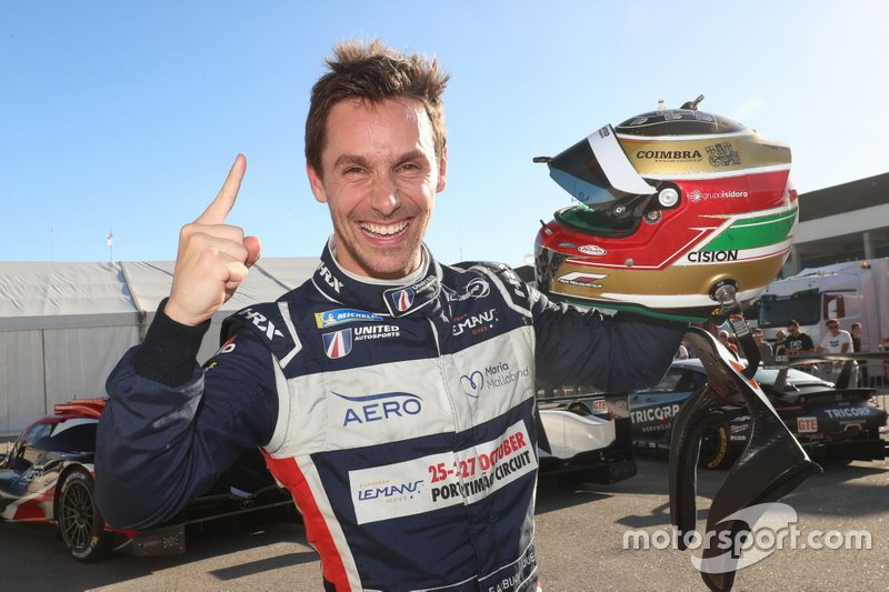 Pole sitter #22 United Autosports Ligier JSP217 Gibson: Filipe Albuquerque