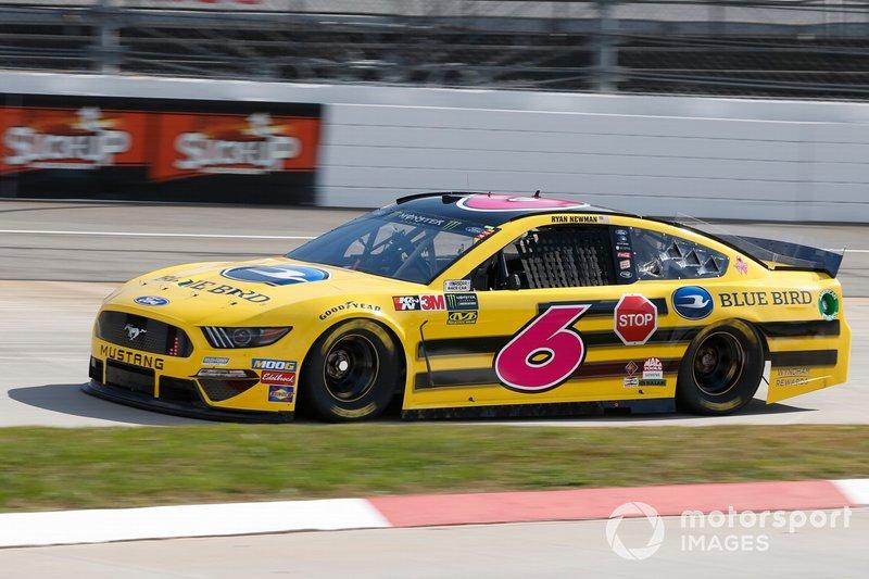 Ryan Newman, Roush Fenway Racing, Ford Mustang Blue Bird