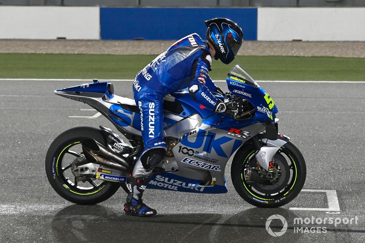 25º Sylvain Guintoli, Team Suzuki MotoGP* - 1'56.762