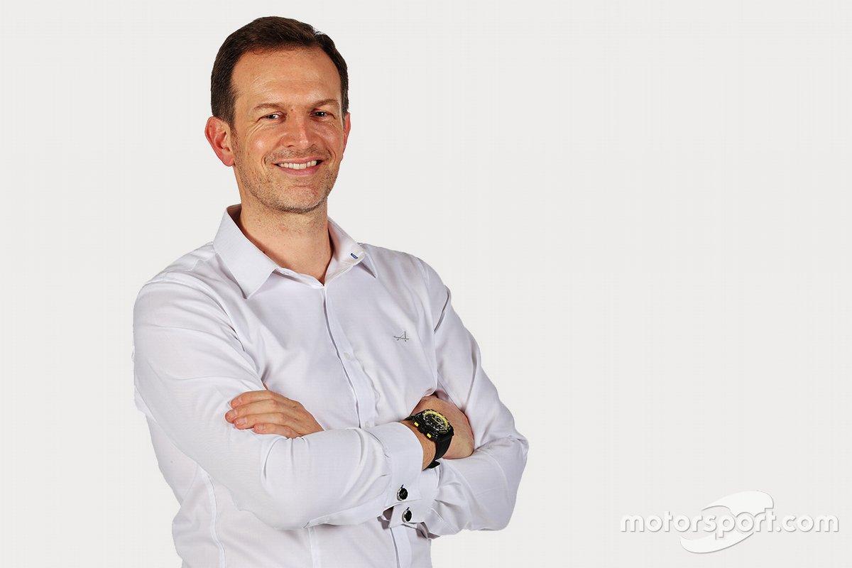 Laurent Rossi, Direttore generale di Alpine
