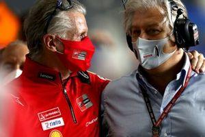 Paolo Ciabatti, Ducati Corse Sporting Director, Paulo Campinoto, Pramac Racing
