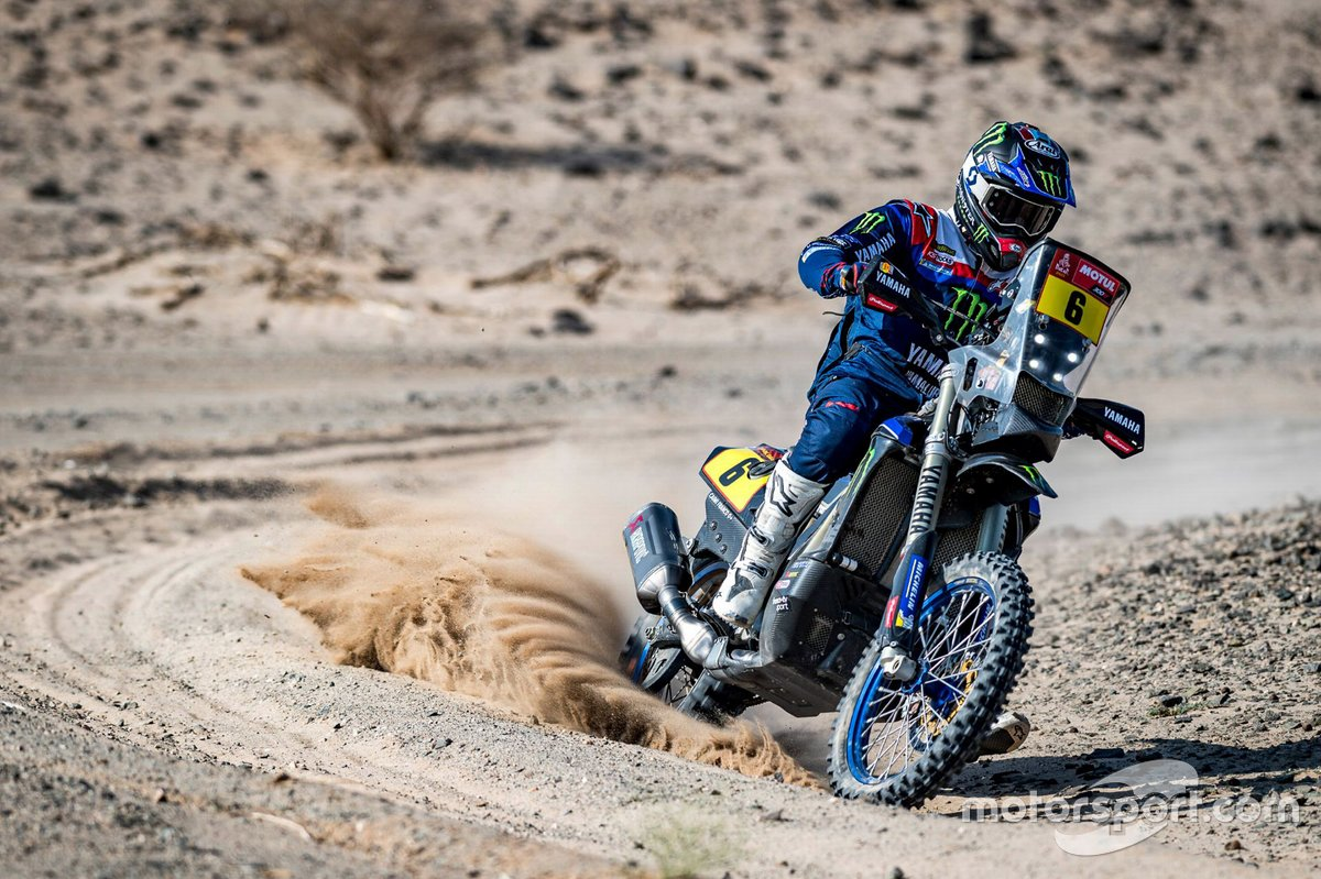 #6 Monster Energy Yamaha Rally Team: Franco Caimi