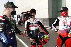 Fabio Quartararo, Yamaha Factory Racing, Johann Zarco, Pramac Racing, Lorenzo Fellon, SIC58 Squadra Corse