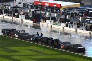 Precipitaciones antes de la salida de la carrera