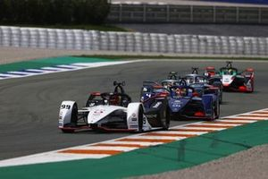 Pascal Wehrlein, Porsche, Porsche 99X Electric, Robin Frijns, Envision Virgin Racing, Audi e-tron FE07, Stoffel Vandoorne, Mercedes-Benz EQ, EQ Silver Arrow 02