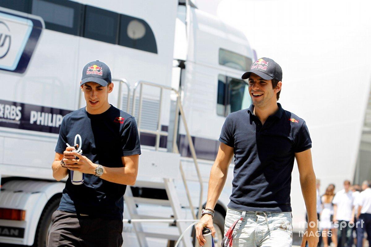 Sebastien Buemi, Toro Rosso, dan Jaime Alguersuari, Toro Rosso