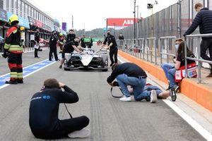 L'auto di Nyck de Vries, Mercedes-Benz EQ, Mercedes-Benz EQ Silver Arrow 02