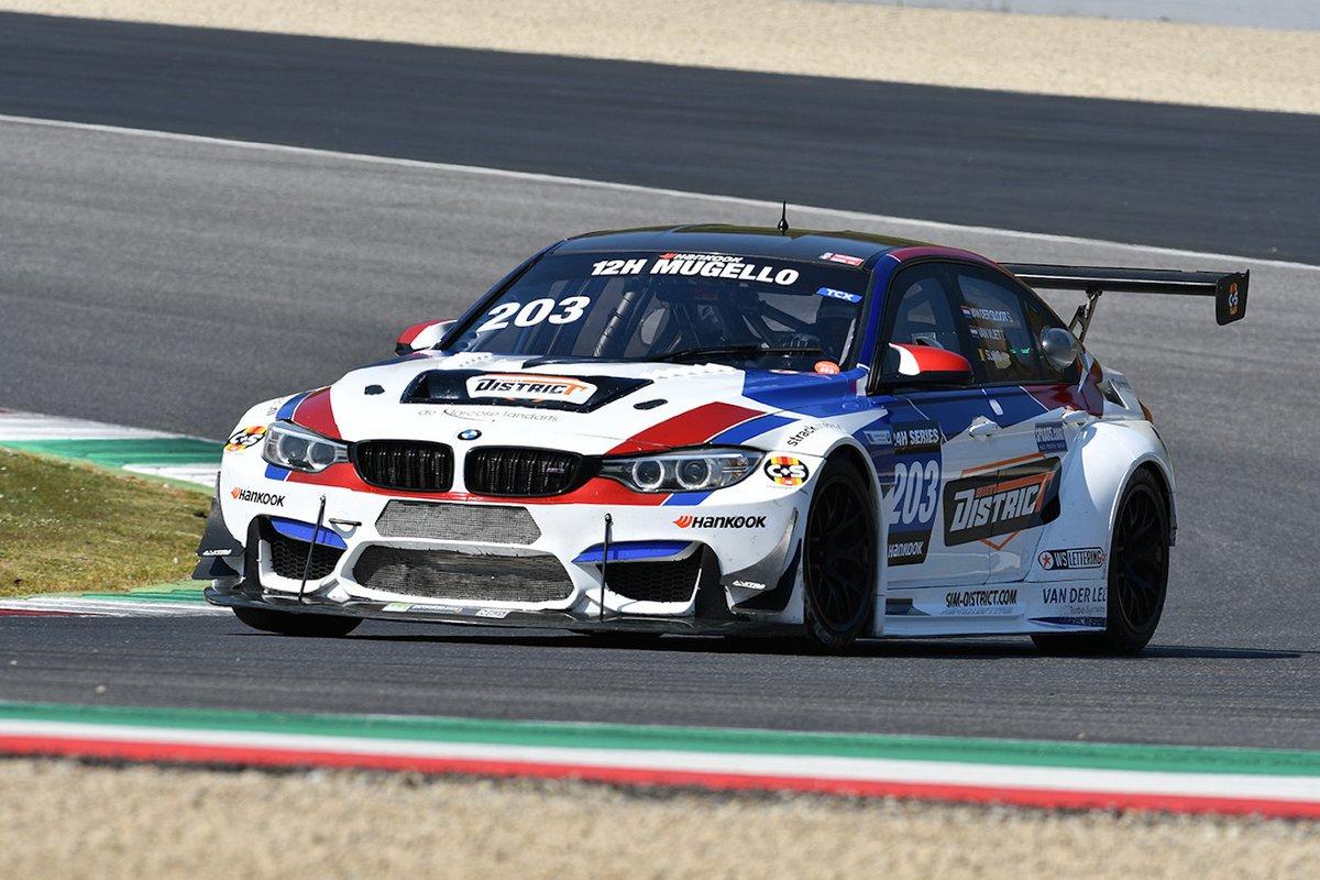 #203 JR Motorsport: Ted van Vliet, Ward Sluys, Sandra van der Sloot, BMW M3 F80