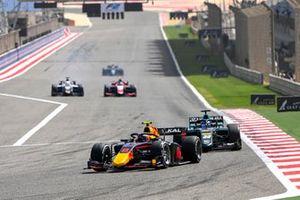 Juri Vips, Hitech Grand Prix and Matteo Nannini, HWA Racelab