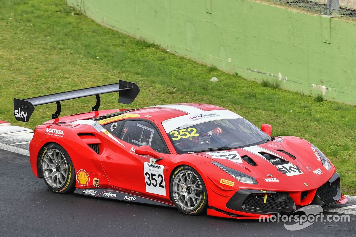 Giorgio Sernagiotto, Alessandro Cozzi, AF Corse, Ferrari 488 Challenge