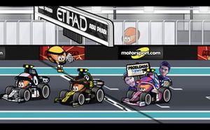 El GP de Abu Dhabi 2020 de F1, por MiniDrivers