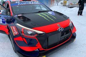 Oliver Solberg, Sebastian Marshall, Hyundai Motorsport, Hyundai i20