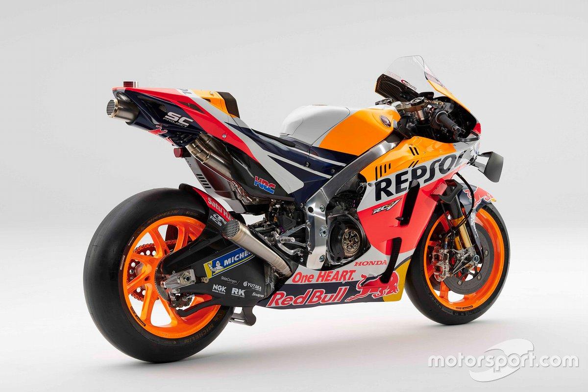 Honda RC213V de Marc Marquez, Repsol Honda Team