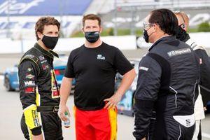 Josh Bilicki, Rick Ware Racing, Ford Mustang and B.J. McLeod, Live Fast Motorsports, Ford Mustang CorvetteParts.net