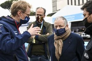 Sylvain Filippi, Managing Director, Envision Virgin Racing, Jean Todt, President, FIA