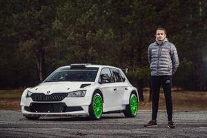 Adrian Chwietczuk, Skoda Fabia Rally2 evo