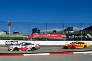 Ryan Newman, Roush Fenway Racing, Ford Mustang Guaranteed Rate, Joey Logano, Team Penske, Ford Mustang Shell Pennzoil