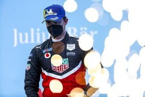 Pascal Wehrlein, TAG Heuer Porsche, 2nd position, on the podium