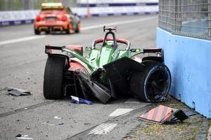 Последствия аварии, Audi Sport ABT Schaeffler, Audi e-tron FE07