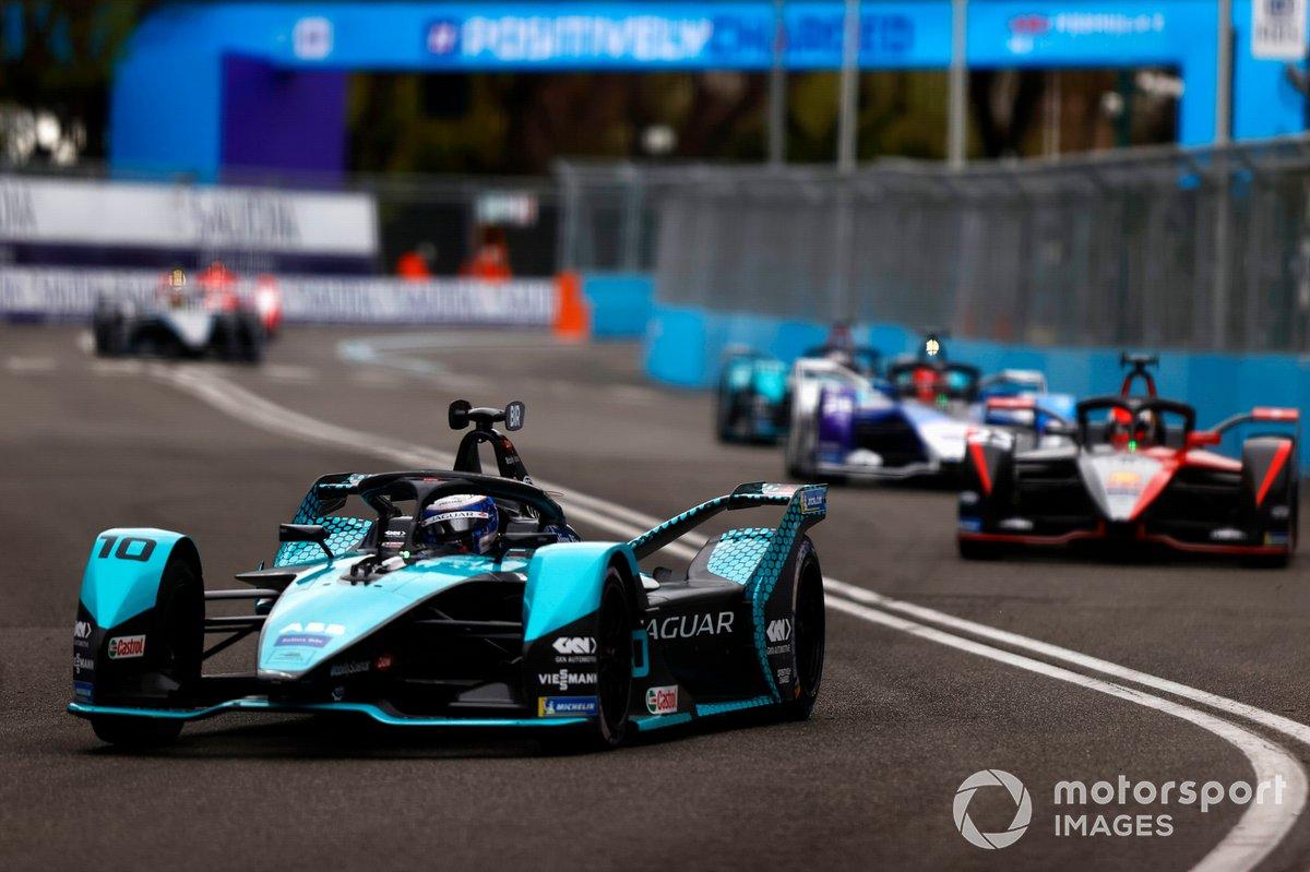Sam Bird, Jaguar Racing, Jaguar I-Type 5, Sebastien Buemi, Nissan e.Dams, Nissan IMO2