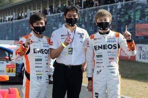 Kazuya Oshima, Kenta Yamashita, Toranosuke Takagi, #14 ENEOS X PRIME GR Supra