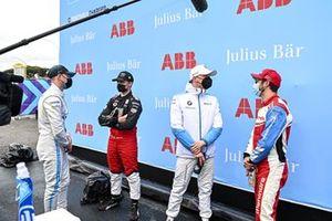 Stoffel Vandoorne, Mercedes Benz EQ, Pascal Wehrlein, Tag Heuer Porsche, Maximilian Günther, BMW I Andretti Motorsport, Alexander Sims, Mahindra Racing