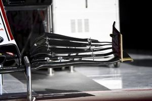 Front wing of Alfa Romeo Racing C39