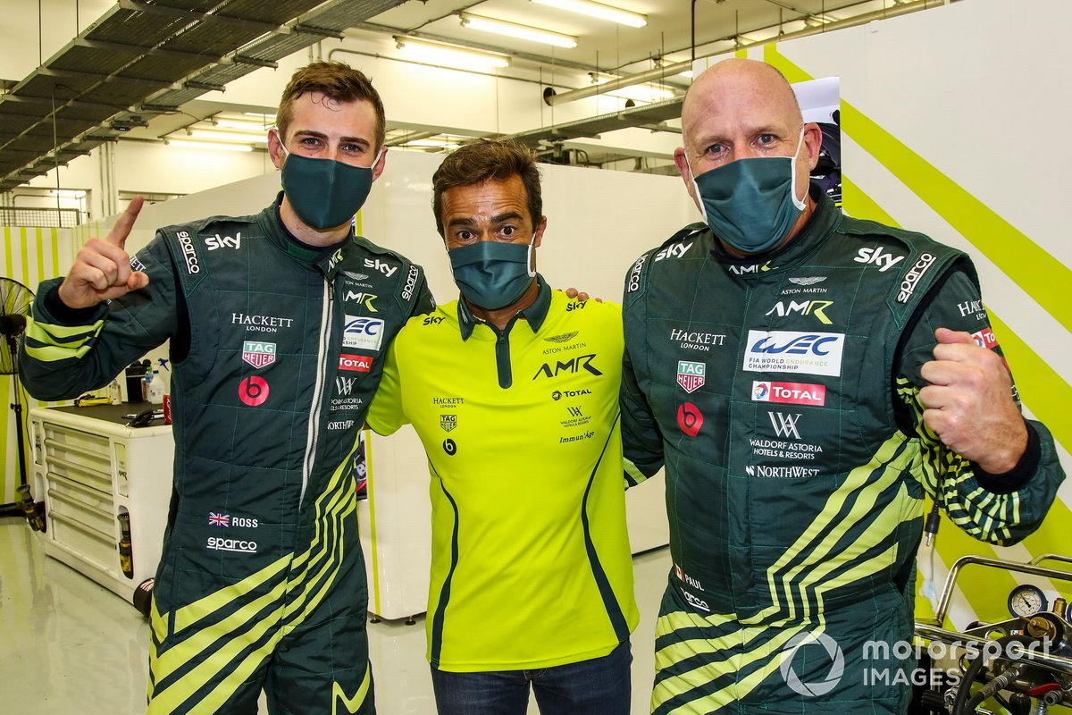 Pole GTE AM: #98 Aston Martin Racing Aston Martin Vantage: Paul Dalla Lana, Pedro Lamy, Ross Gunn
